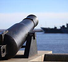 Old coastal Cannon by mrivserg