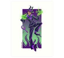 Happy Villains Series - Malefi Art Print