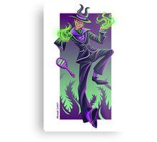Happy Villains Series - Malefi Metal Print