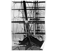 The Cutty Sark Bow Poster
