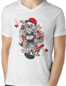 POKER LIFE Mens V-Neck T-Shirt