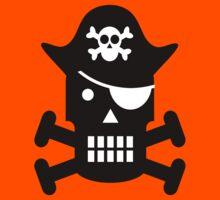Pirate Robot Kids Tee