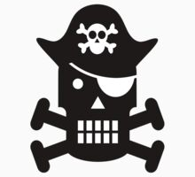 Pirate Robot One Piece - Short Sleeve