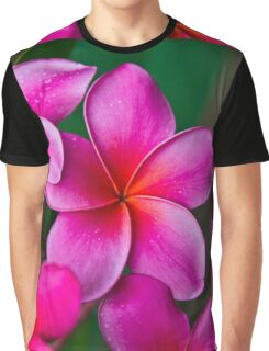 Pink Plumeria 1080 Graphic T-Shirt