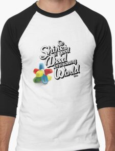 So Shines a Good Deed in a Weary World Men's Baseball ¾ T-Shirt