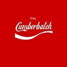 Enjoy Cumberbatch (iPhone case) by cumberqueen