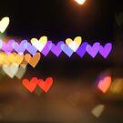 Heart Bokeh by Hayleyschreiber