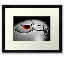The Last Drop #1 Framed Print