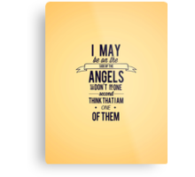 The Side of the Angels Metal Print