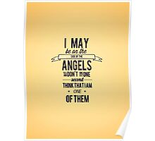 The Side of the Angels Poster