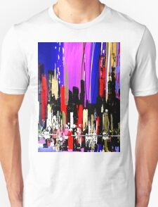 2803 Abstract City Landscape Painting Unisex T-Shirt