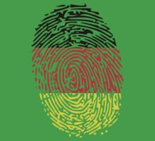 Flag of Germany Thumbprint by nadil