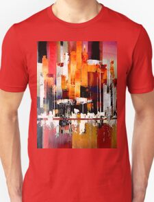 City harbour seascape painting Unisex T-Shirt