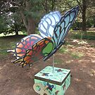 Butterfly by Michele Lee by Sandy Sparks