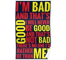 Bad guys  Poster