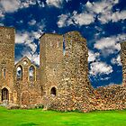 Reculver Castle - England by Ian Jeffrey