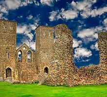 Reculver Castle - England by Ian Jeffrey