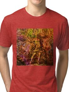 Alchemical Fire - In The Belly Of The Wind Tri-blend T-Shirt