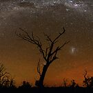 Milky Way Rainbow by Wayne England