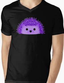 Redgy, the Hedgehog Mens V-Neck T-Shirt