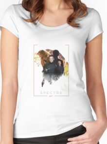 24th james bond movie spectre Women's Fitted Scoop T-Shirt