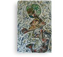 A woman in dazzle Canvas Print