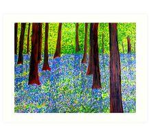 Springtime Splendour Art Print