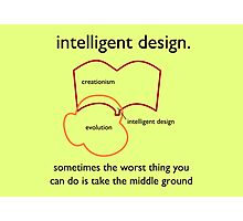 Intelligent Design Photographic Print