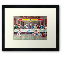 Dinner Theatre Framed Print