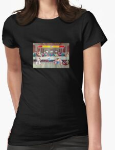 Dinner Theatre Womens Fitted T-Shirt