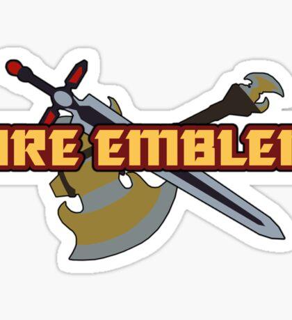 BLAZING SWORD | Fire Emblem Titles Sticker