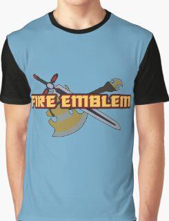 BLAZING SWORD | Fire Emblem Titles Graphic T-Shirt