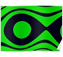 Oceana Green ~ Ultra Fractal,Photoshop.. Poster
