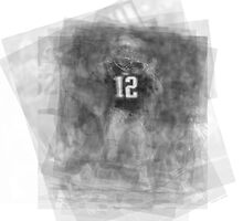 Tom Brady Overlay by Steve Socha