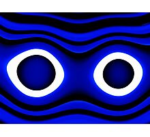 Cookie Monster Eyes  Photographic Print