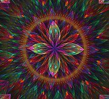 Apophysis Colorful Bloom  by Beatriz  Cruz