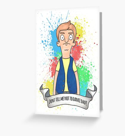Jimmy Jr bobs burgers Greeting Card