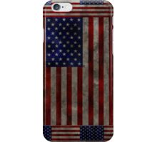 Grungy American Flag Case iPhone Case/Skin