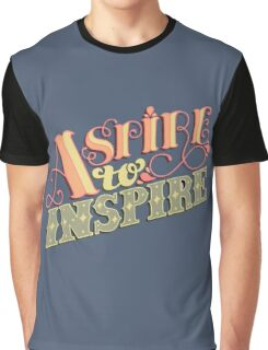 Aspire to Inspire Graphic T-Shirt