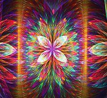 Colorful Blooms Delight  by Beatriz  Cruz