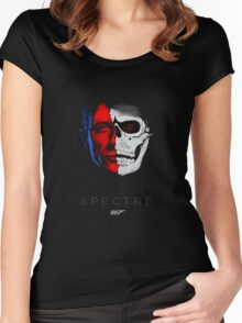 spectre bond 24th movie Women's Fitted Scoop T-Shirt