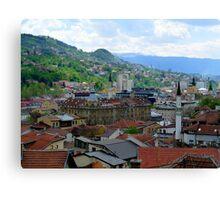 Old Town of Sarajevo II Canvas Print