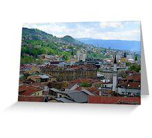Old Town of Sarajevo II Greeting Card