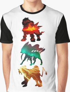 the legendary trio (beasts) Graphic T-Shirt