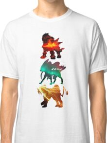 the legendary trio (beasts) Classic T-Shirt