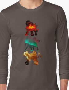 the legendary trio (beasts) Long Sleeve T-Shirt