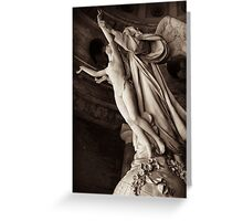 angel of death Greeting Card