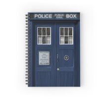 The Tardis Spiral Notebook