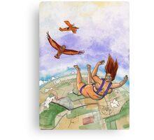 Skydive Canvas Print