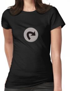 Tap (Magic the Gathering) Womens Fitted T-Shirt